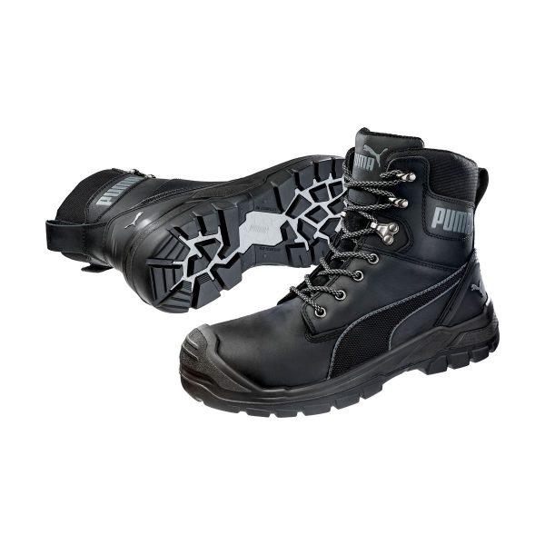 Conquest Blk High PUMA Safety cipele