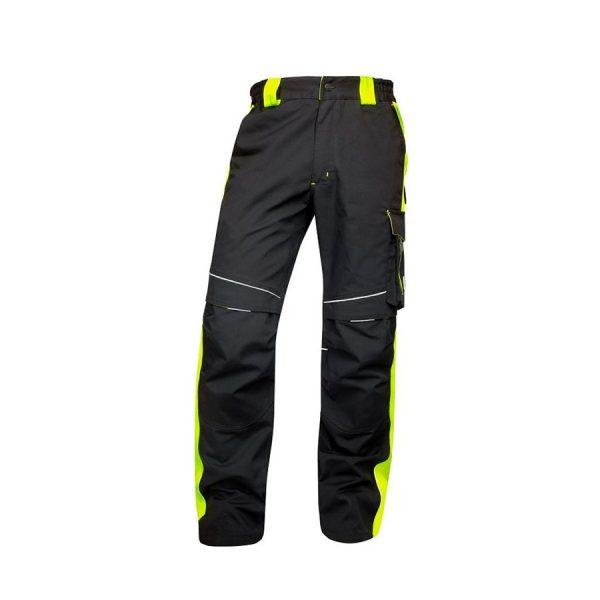 Neon classic hlače crno/žute